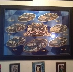 Rusty Wallace Glass Racing Picture